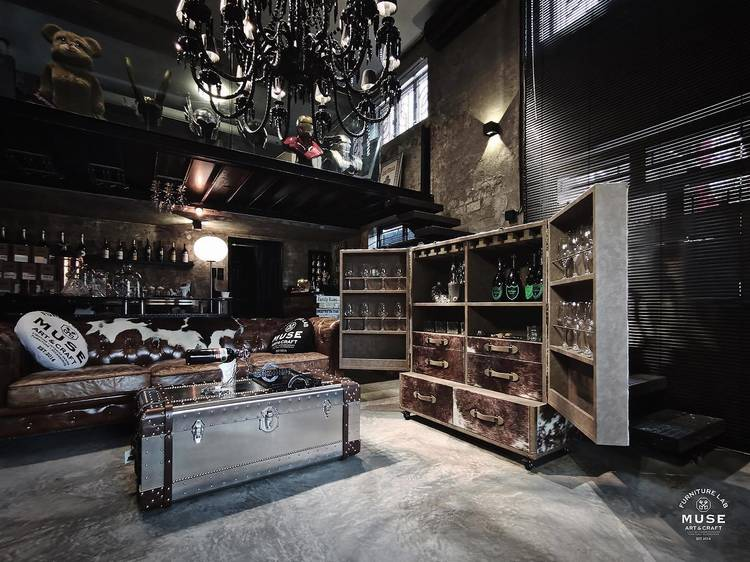 Muse Furniture Lab:英倫傢俬店 cafe