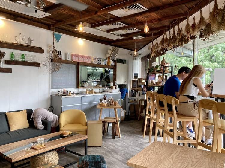 V.W Vegan Cafe:純素田園