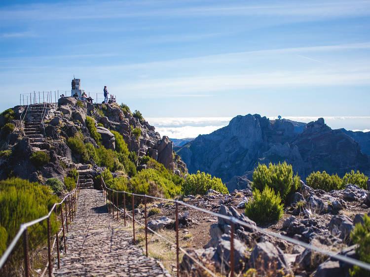 Vereda Pico Areeiro – Pico Ruivo