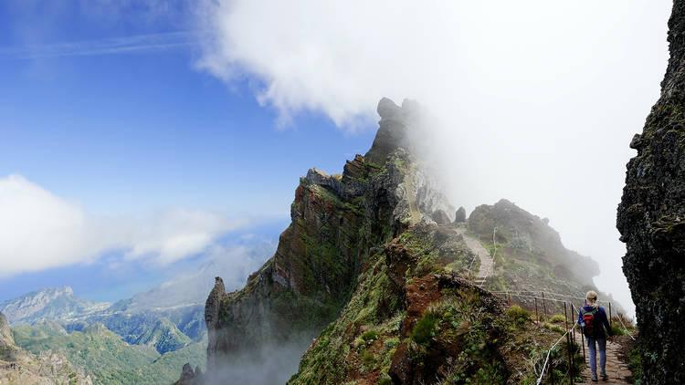 Trilhos, Pico Ruivo, Ilha da Madeira
