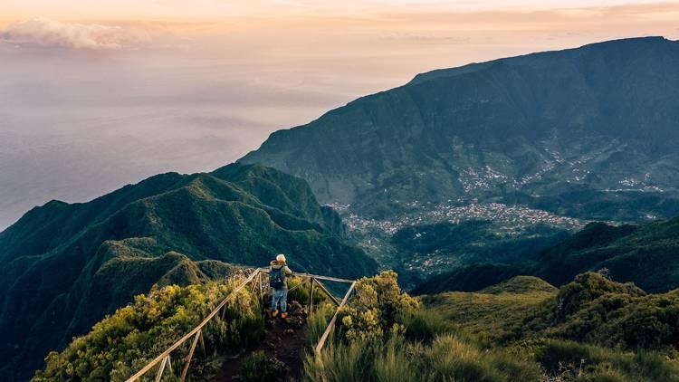 Pico Ruivo do Paul, Ilha da Madeira, Miradouro
