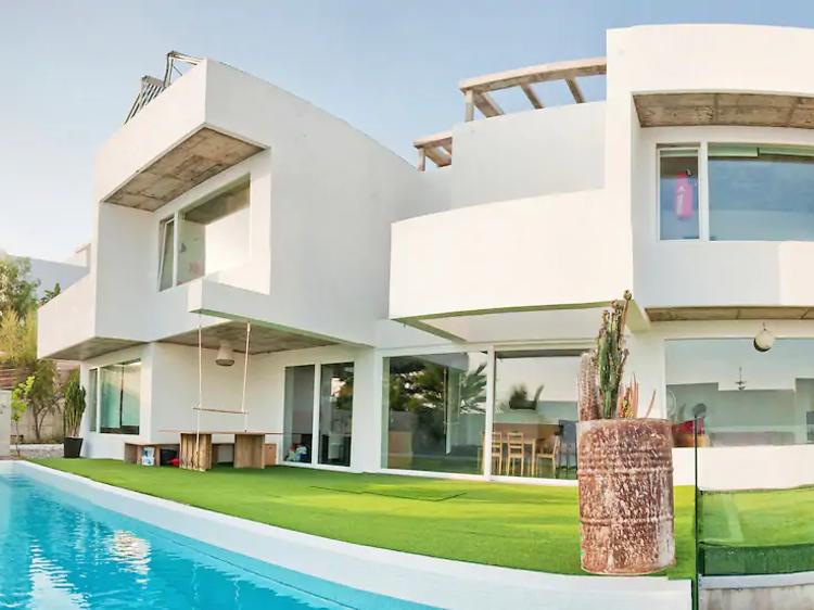 Increíble villa ecológica, en Málaga