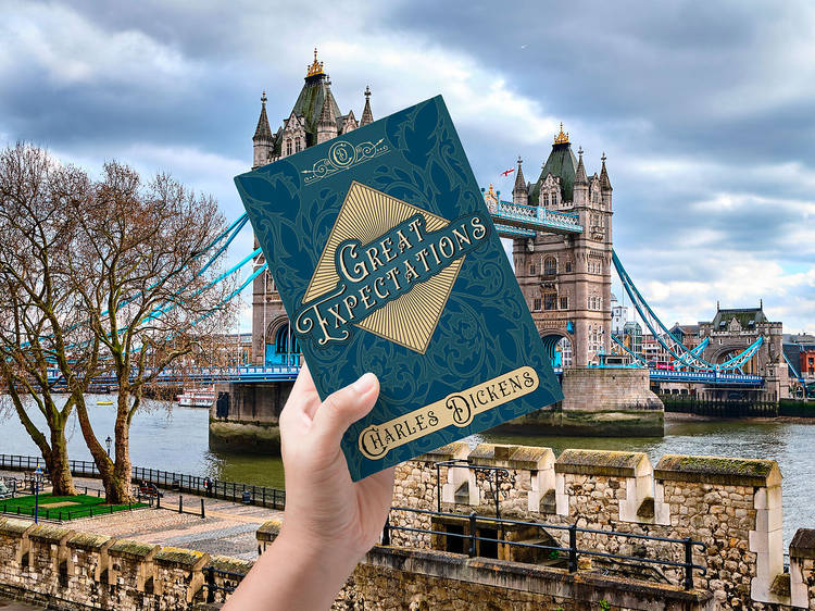London: 'Great Expectations' by Charles Dickens