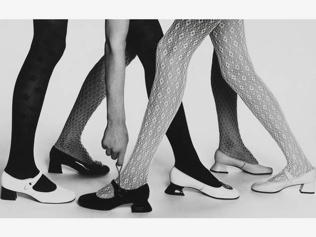Mary Quant (Photograph: Mary Quant tights and shoes, about 1965. Image courtesy Mary Quant Archive / Victoria and Albert Museum, London)