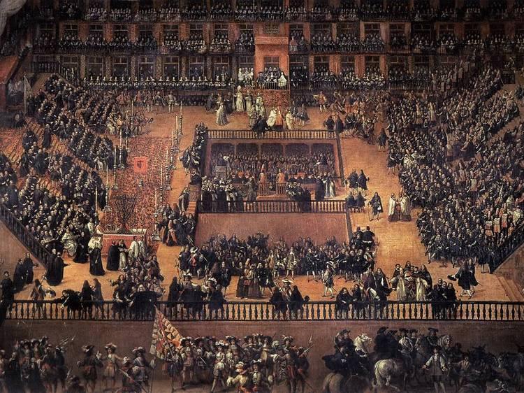 La Inquisición en la Plaza Mayor