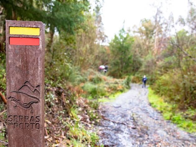Percursos pedestres do Parque das Serras do Porto