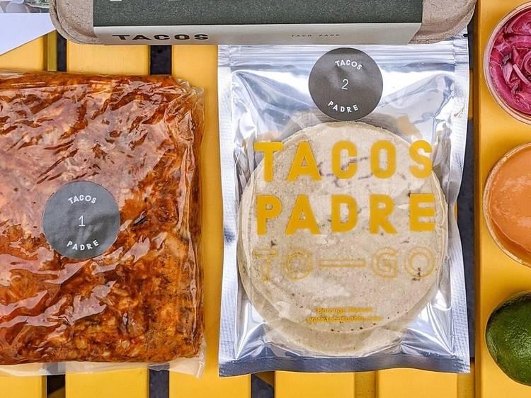 Tacos Padre, pork cochinita pibil meal kit