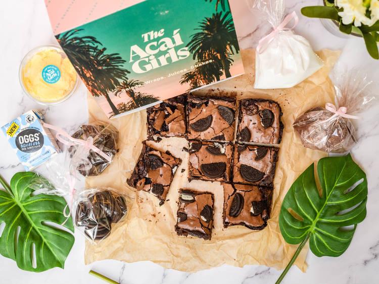 Acai Girls, Oreo brownie box