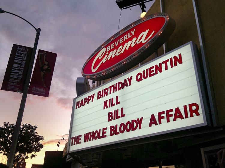 New Beverly Cinema, Los Angeles