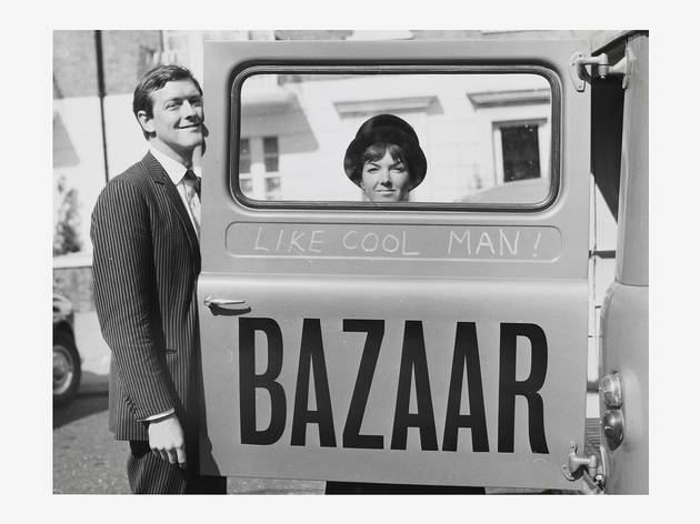 Mary Quant (Photograph: Mary Quant and Alexander Plunket Greene, 1960 Courtesy of Terence Pepper Collection. © John Cowan Archive)