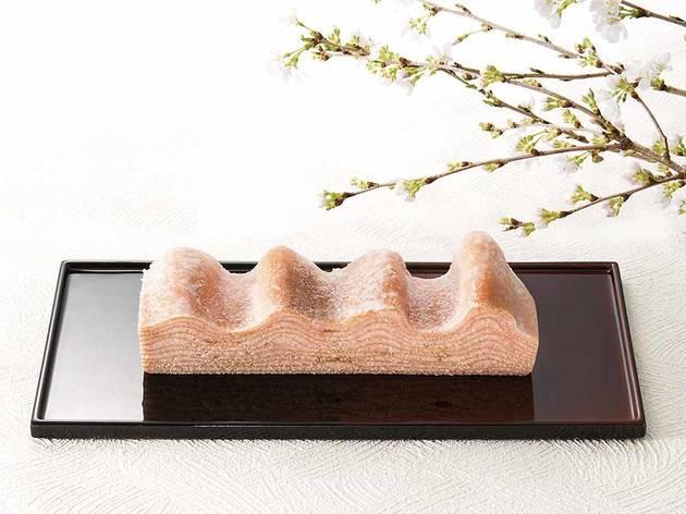 Sakura baumkuchen