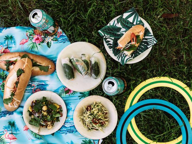 Rice Paper Scissors catering picnic box