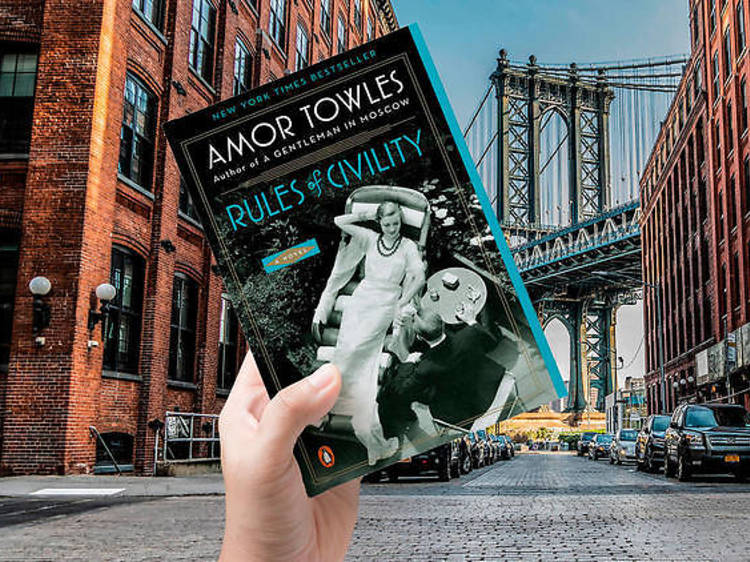 Nueva York: 'Rules of civility' de Amor Towles