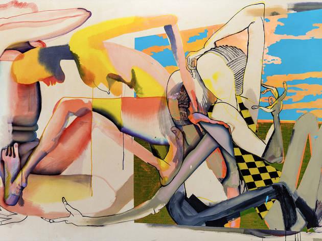Christina Quarles, Tha Color of Tha Sky (Magic Hour), 2017.