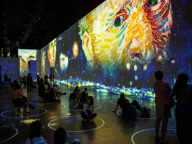 The high-tech Immersive Van Gogh show is finally coming to NYC