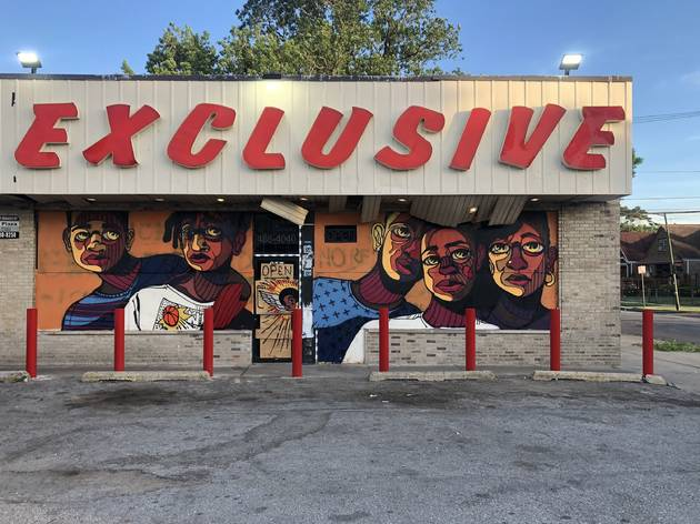 Muralist Langston Allston on his prolific year in Chicago and what's next