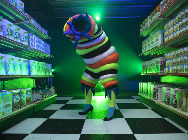 You must see this insane-looking psychedelic grocery store in Las Vegas that doubles as an art exhibit