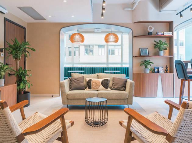Weave Suites living room