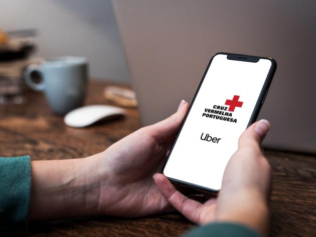 UBER X Cruz Vermelha