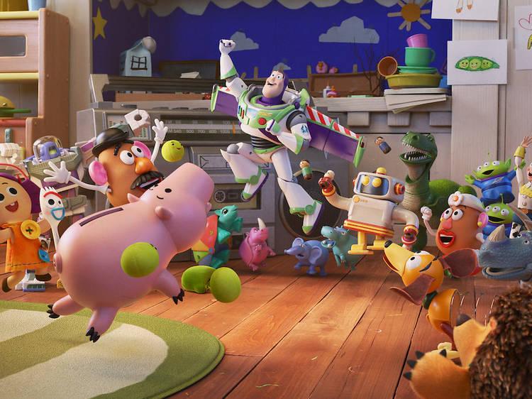 Pixar Popcorn and Inside Pixar