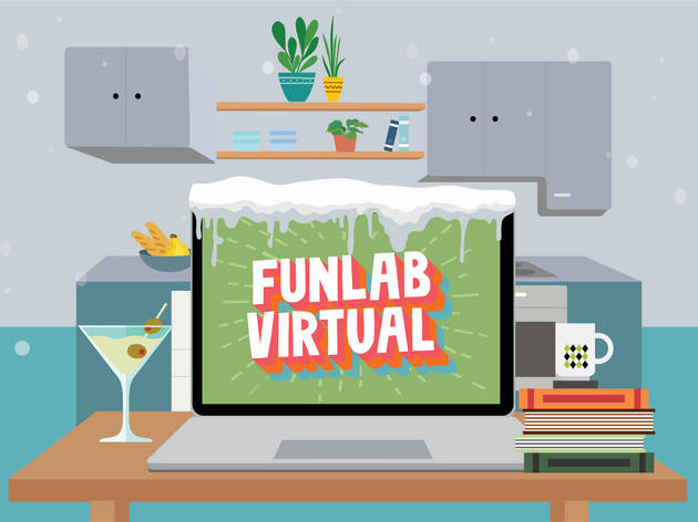 Win a virtual party for you and nine friends from Funlab