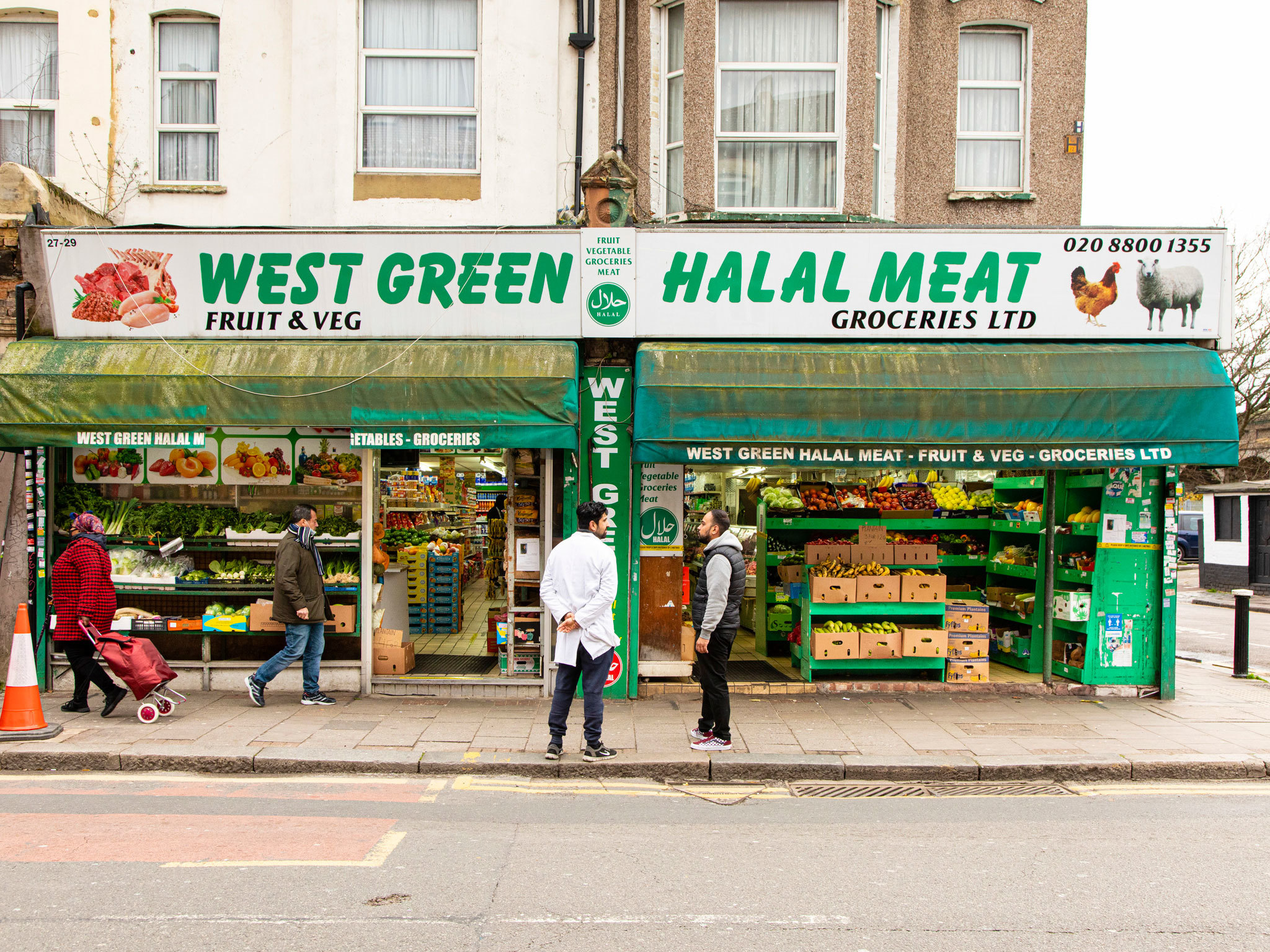 Top chefs select their favourite cornershops in London