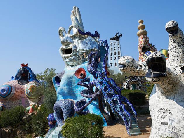 Niki de Saint Phalle Tarot Garden MoMA PS1