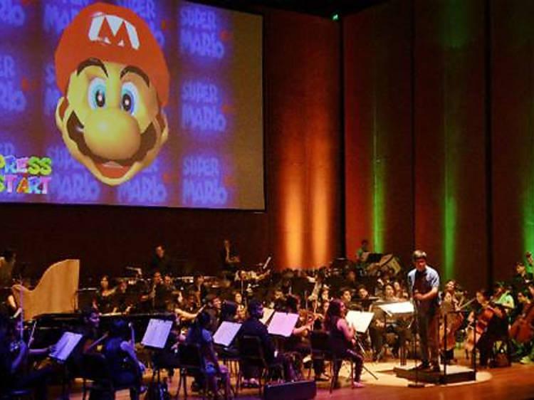 Concierto sinfónico con música de Super Mario Bros