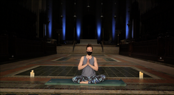 yoga at Cathedral of St. John the Divine