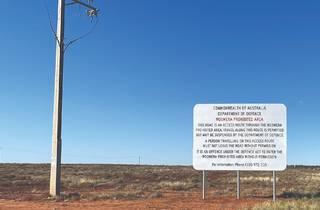 Yhonnie Scarce, 'Prohibited Zone, Woomera' 2021