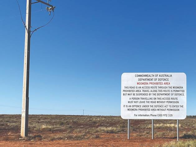 Yhonnie Scarce, 'Prohibited Zone, Woomera' 2021