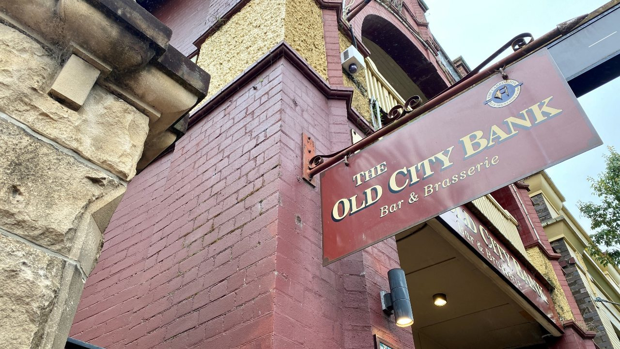 The Old City Bank Bar and Brasserie, Katoomba