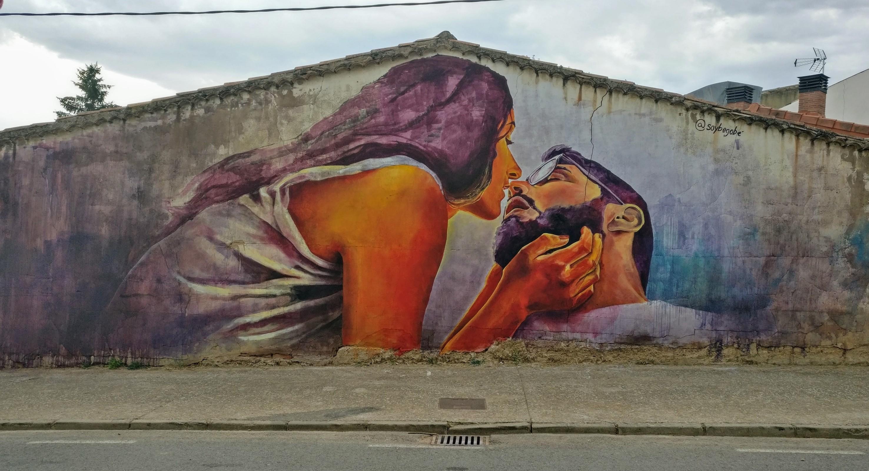 Villangómez. Grafiti Soybebogé