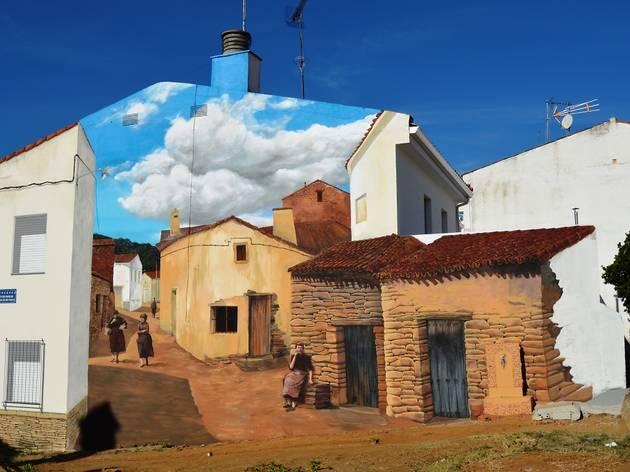 Romangordo Grafitis
