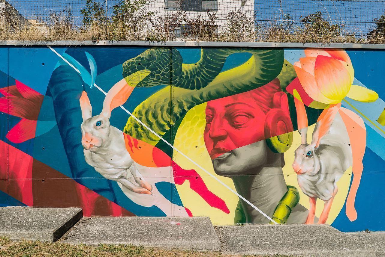 Huarte Grafitis Cantamañas