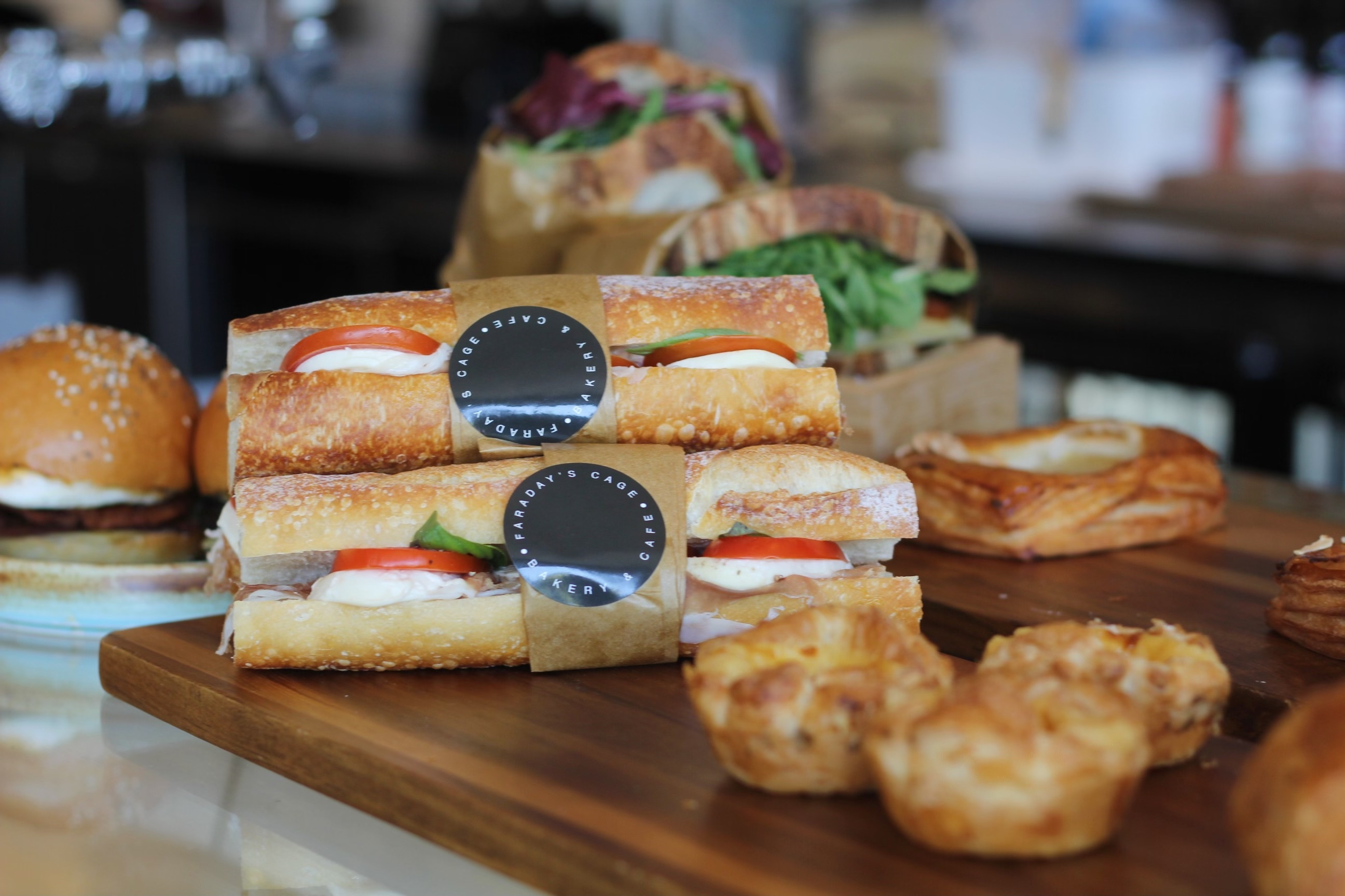 Faraday's Cage Fitzroy sandwiches