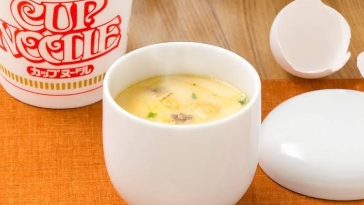 Cup Noodle chawanmushi