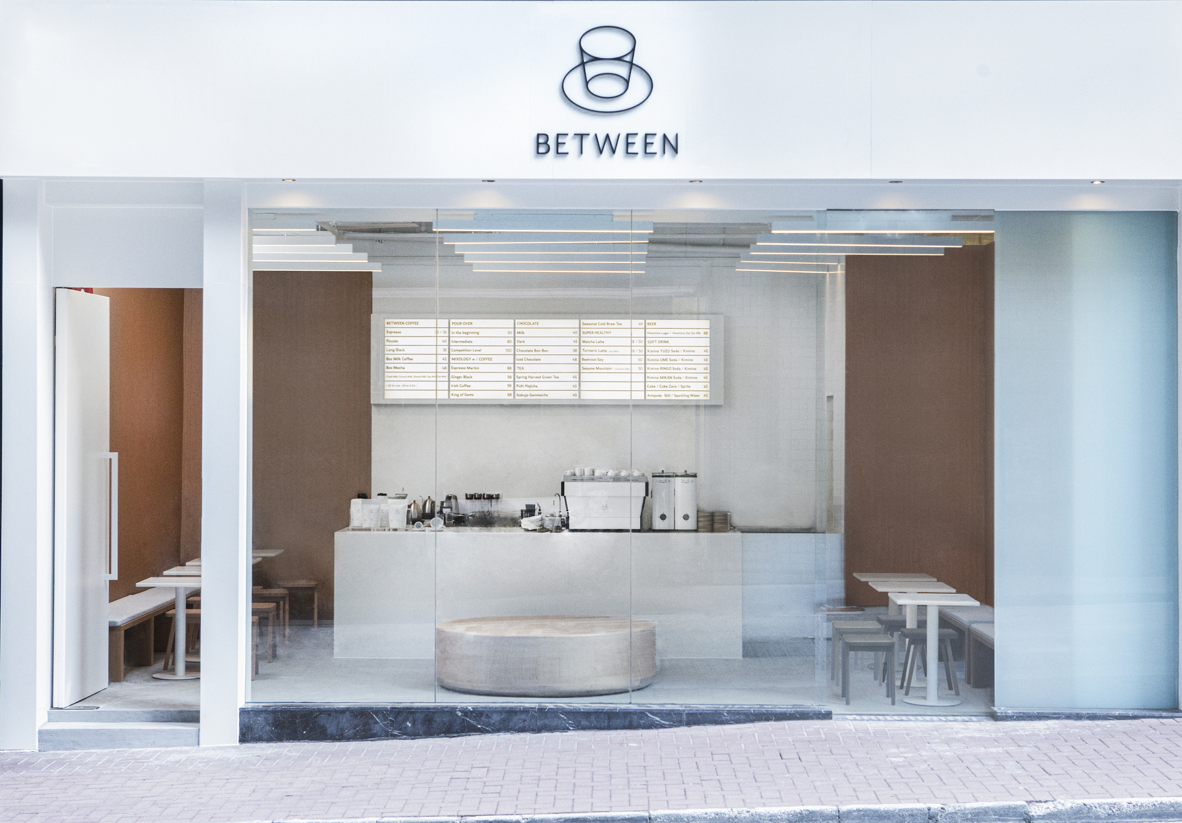 Between Coffee opens a new coffee shop in Wan Chai