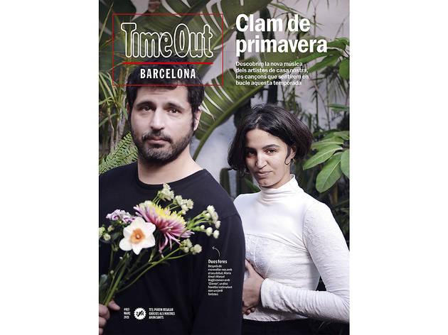 Portada Time Out Barcelona 613, Maria Arnal i Marcel Bagés