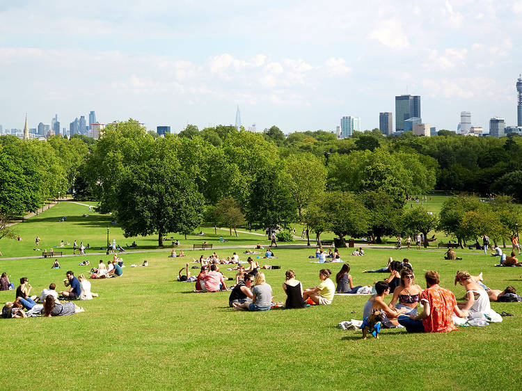 Find the sickest picnic spots in London