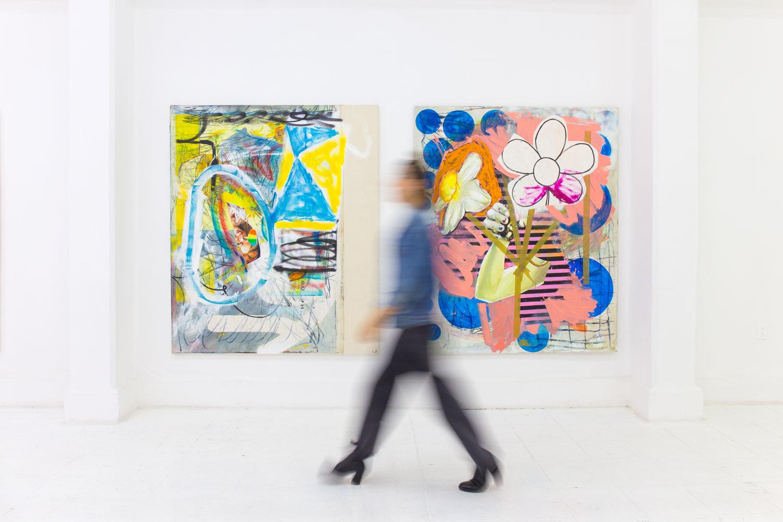 Endy Hupperich exhibe en la Galería Karen Huber