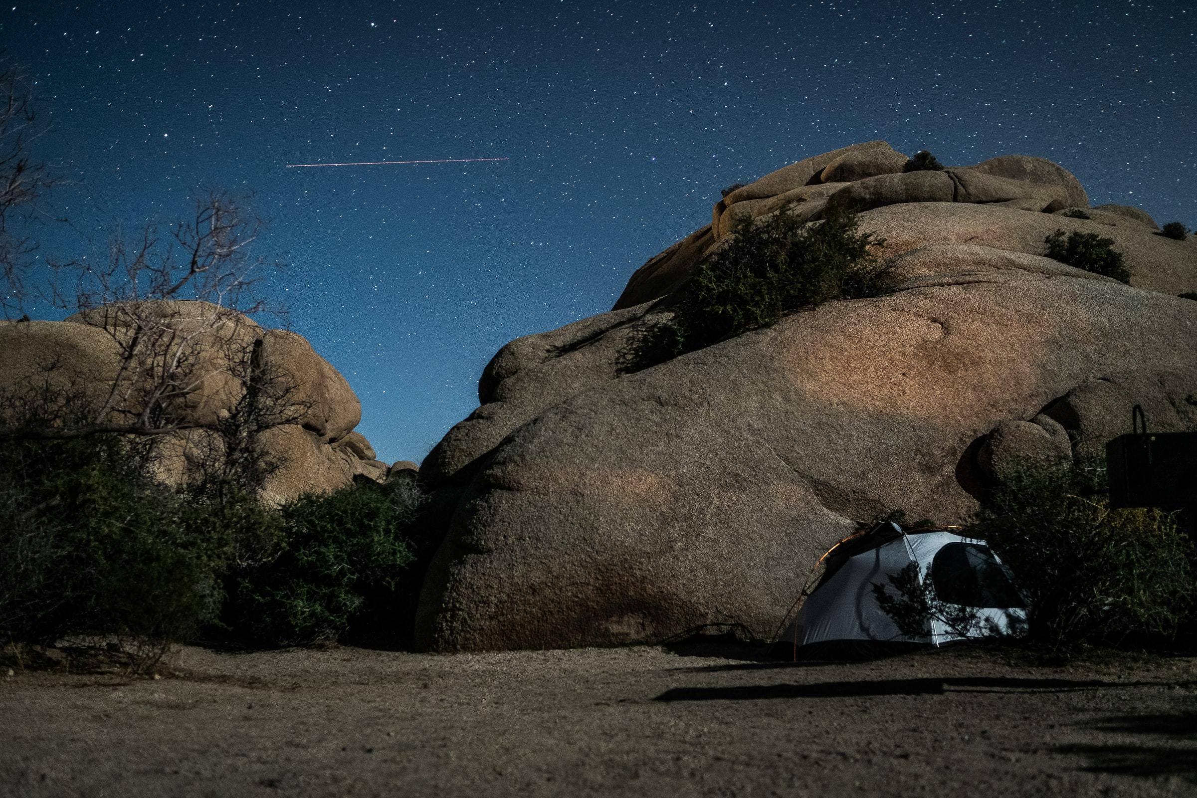 Amazing places to go camping near Los Angeles