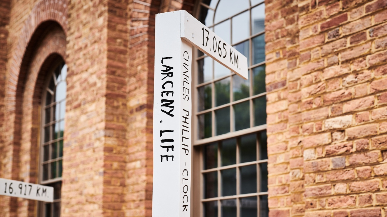 An art installation at the Hyde Park Barracks museum