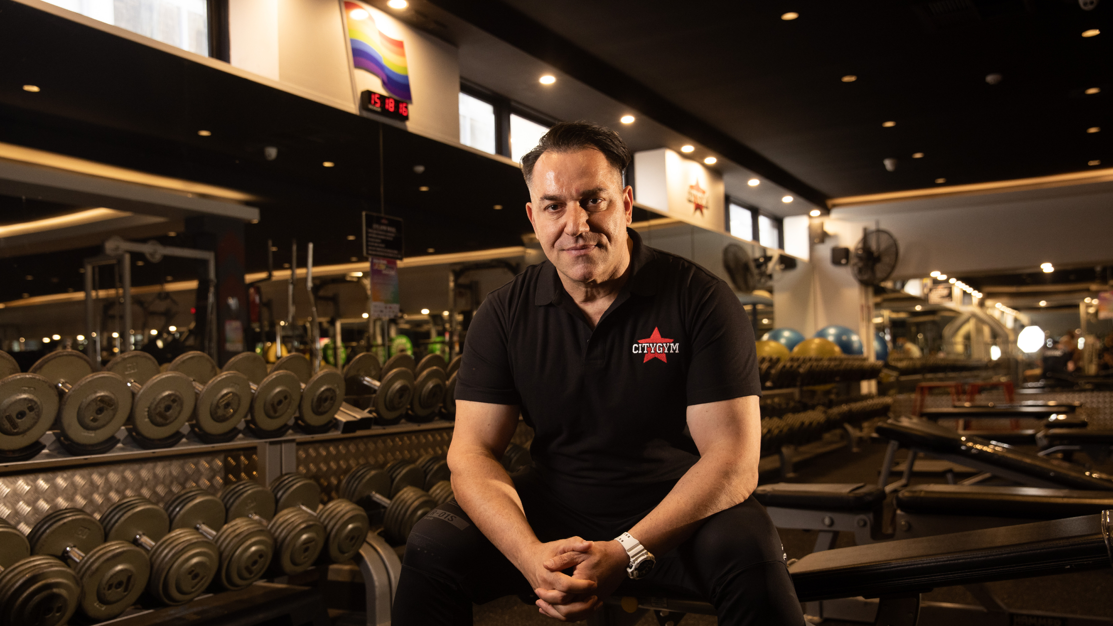 Billy Kokkinis at City Gym