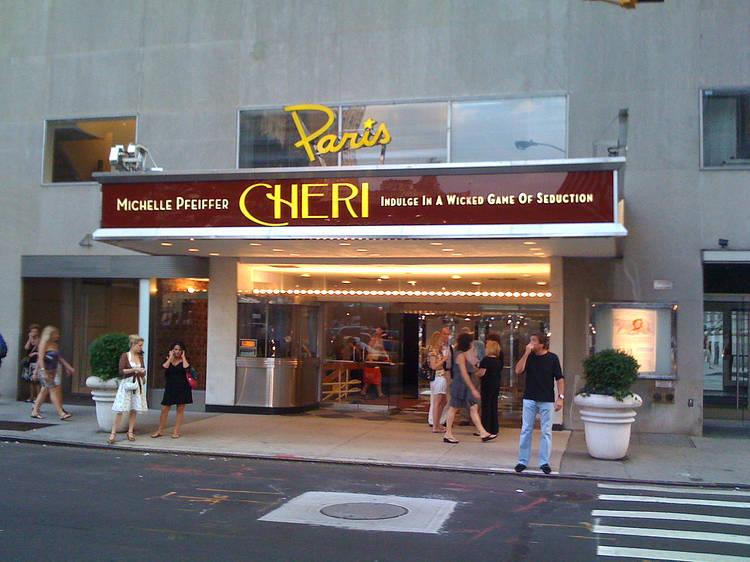 Paris Theater, New York