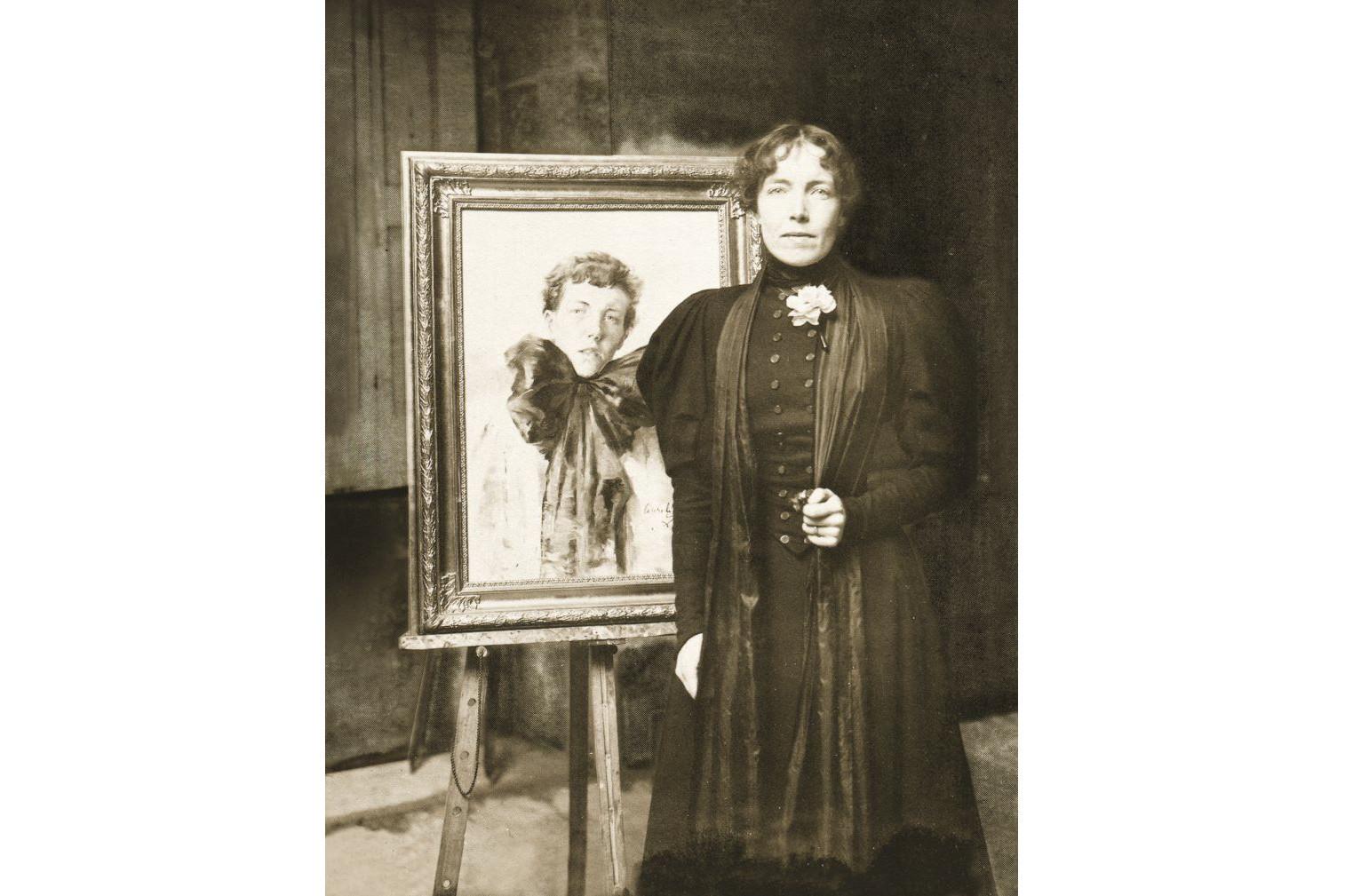 Auto-retrato do Laço Negro