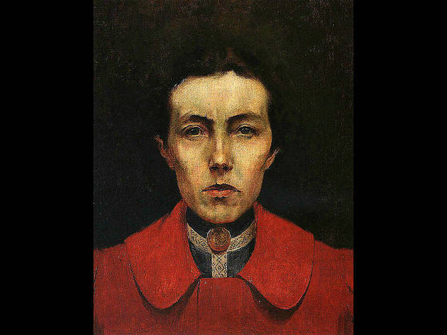 Auto-retrato de Aurélia de Sousa