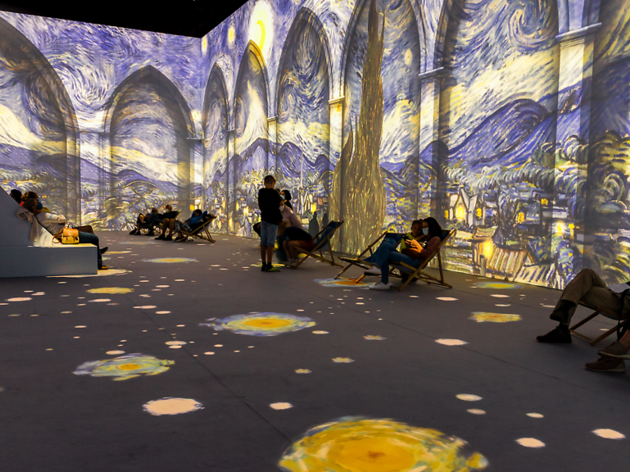 Photograph: Van Gogh The Immersive Experience