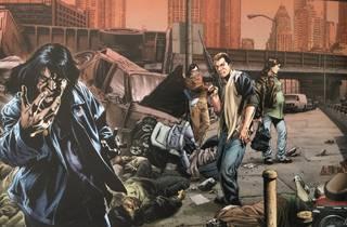 Ilustración del comic Apocalipsis