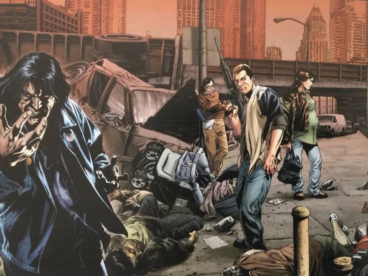 Apocalipsis, el contagio del Capitán Trotamundos en novelas, series y cómics